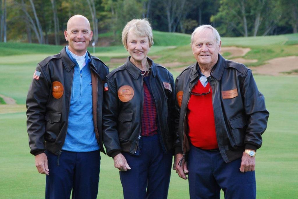 Lt. Col. Dan Rooney, Barbara and Jack